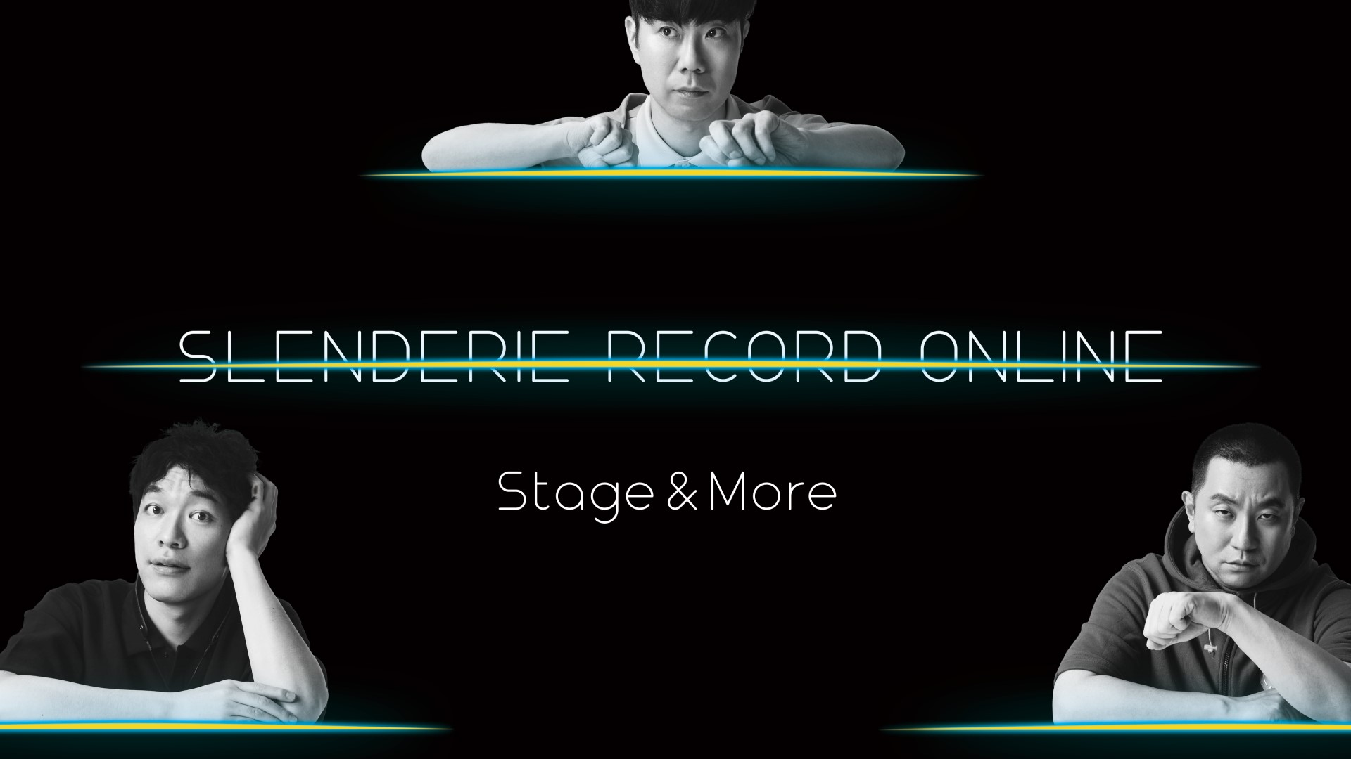 SLENDERIE RECORD Online Stage & More   RG(レイザーラモン) 川島明(麒麟) 藤井隆 (AI未定)