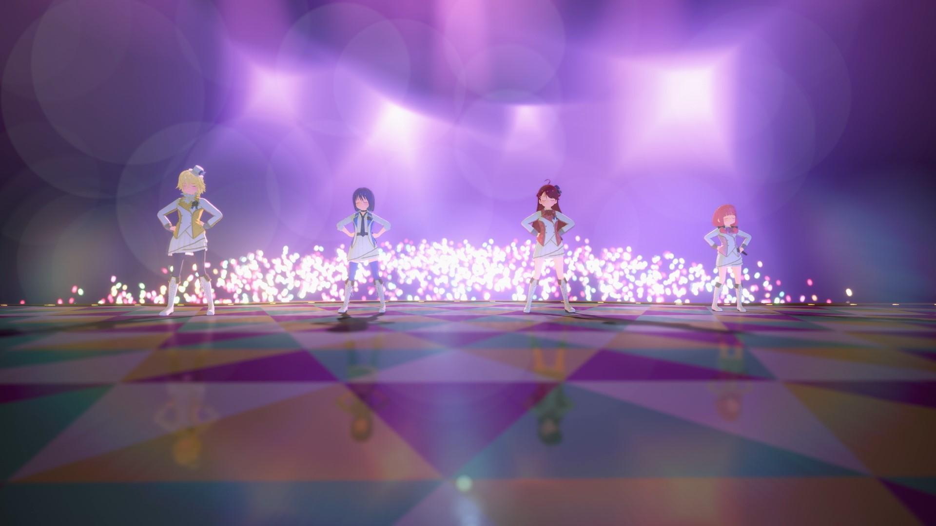 アイドールズ!First Online Live!! | アイドールズ!(留冬藍名 / 水野亜美 / 花岡志織 / 屋代瑠花)